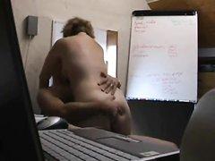 Секс коллег в британском офисе