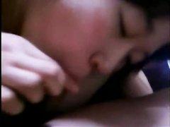 Любительский секс от первого лица с проникновением в волосатую киску азиатки
