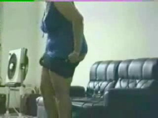 Зрелая толстуха перед скрытой камерой отдалась после домашнего минета