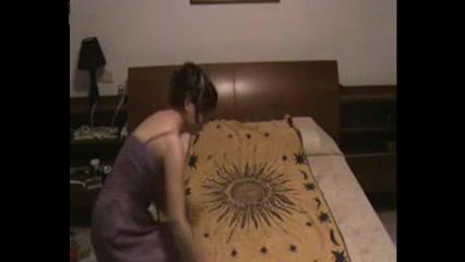 Зрелая итальянка перед скрытой камерой трахнулась с любовником