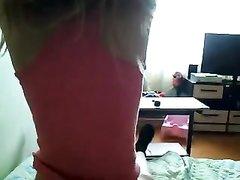Русская парочка в любительском видео показала всю гамму нежных чувств